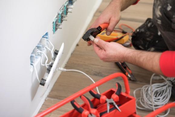 raccordement de fils électriques